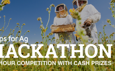 July 28 – 30, 2017 – Food and Agriculture Hackathon in Davis/Sacramento in July with a $10k first prize