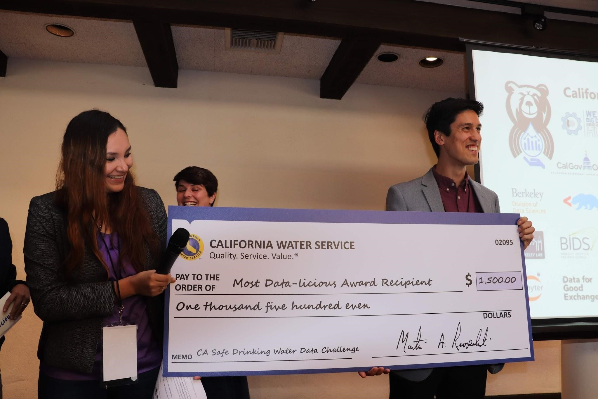 2018 California Safe Drinking Water Data Challenge – Find a new way
